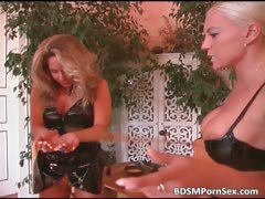 Awesome blonde mature babe is dominated part1