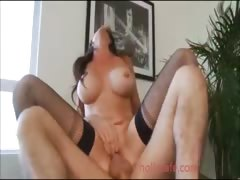 big titted mom eagerly fucking a younger guy  Big-Dick