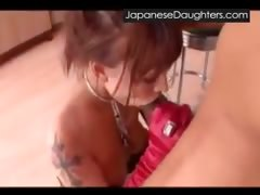 Cute japanese teen painfully abused