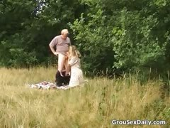 Great outdoor group sex full of nasty part4