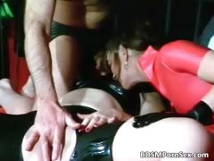 Old guy is involved in rough BDSM action part5