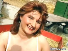 Chubby milf enjoying in hot country part2