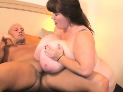Big Titty BBW Gets Fucked Hard