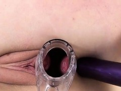 A Speculum and Anal Toy for Tammy
