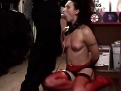 Glamour pussy bound and gagged